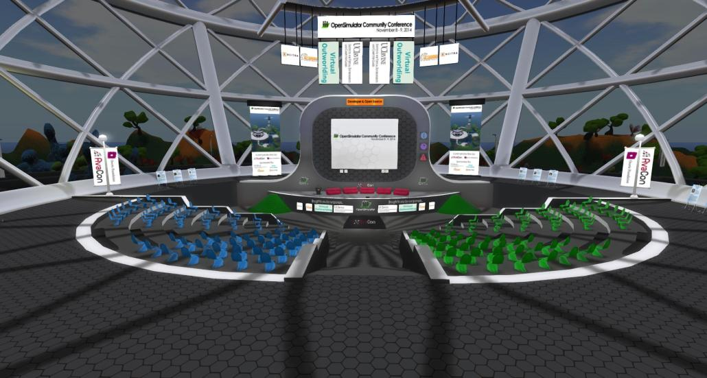 OpenSim serveur d'espace 3D Interactif, Immersif, Educatif