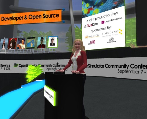 Maria Korolov speaking